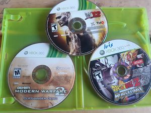3 xbox 360 games for Sale in Aspen Hill, MD