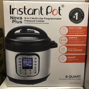 Instant Pot 6 qt 9 in 1 Brand New for Sale in Woodway, WA