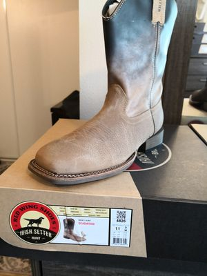 Brand new red wings Irish setter boots for Sale in Riverside, CA