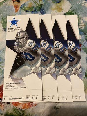 Cowboys vs Rams - Club - $450 each for Sale in Richardson, TX
