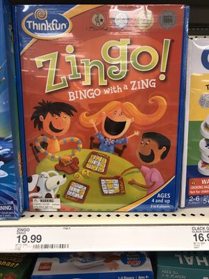 Zingo game $8 for Sale in Providence, RI