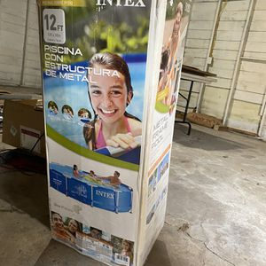 12 Foot Pool With All Parts Included for Sale in Dallas, TX