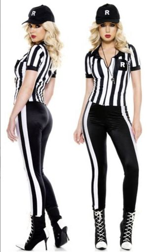 SEXY REFEREE COSTUME FOR WOMEN - M size for Sale in Coral Gables, FL