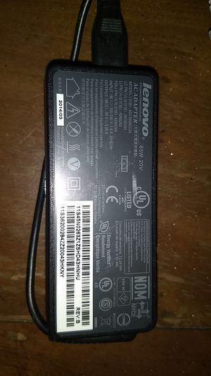 Lenovo 65W 20V AC Adapter 3.25A for Sale in San Diego, CA