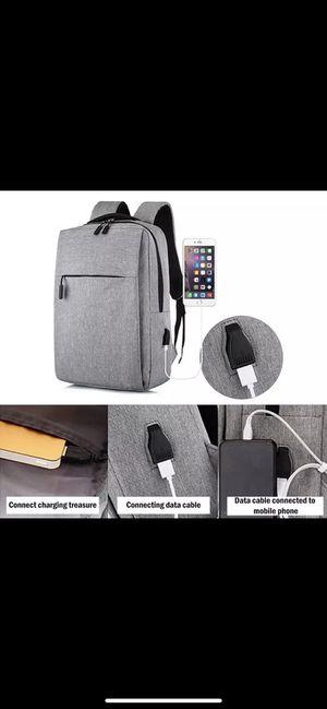New Laptop Usb Backpack School Bag Rucksack Anti Theft Men Backbag Travel Daypacks Male Leisure Backpack Mochila for Sale in Los Angeles, CA