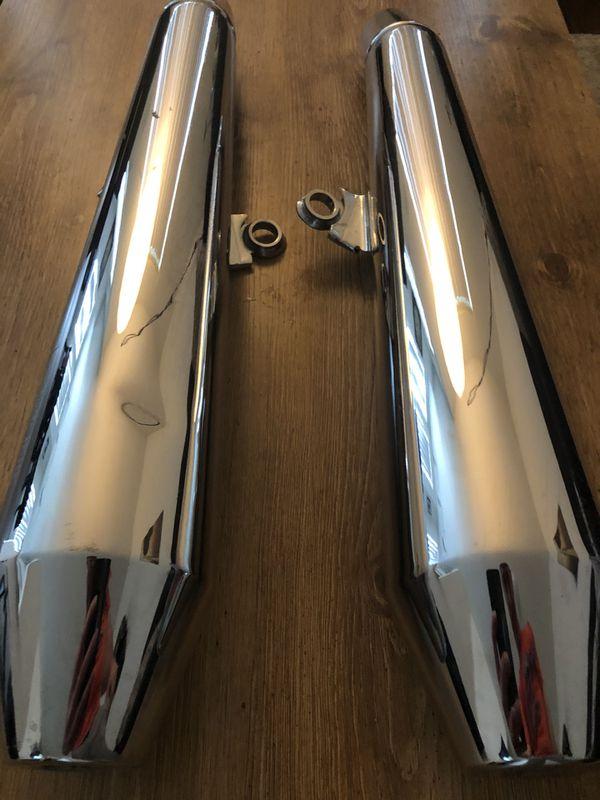 Triumph Thruxton motorcycle exhaust