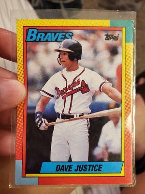 David Justice Baseball Card for Sale in Lakeland, FL