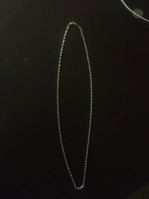 10k gold rope chain NEED GONE ASAP for Sale in Elk Grove, CA