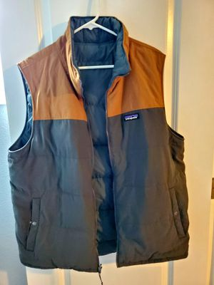 Men's Patagonia Bivy Down reversible vest for Sale in Gresham, OR