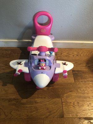 Minnie Mouse Push and Ride Airplane for Sale in Federal Way, WA