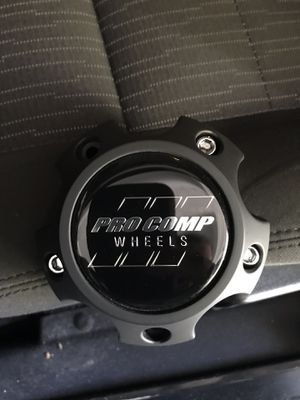 Pro Comp ProComp Alloys Wheel Rim Hub Cover Flat Black Center Cap 6031CAP1 for Sale in Winter Park, FL