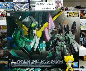 RG 1/144 unicorn gundam full armor for Sale in Riverside, CA