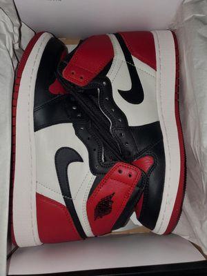 Air Jordan 1 High Bred toe for Sale in Miami Gardens, FL