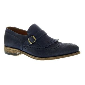 Blue Suede Blackstone loafers for Sale in Brownsburg, IN