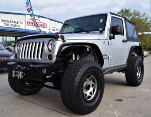 2012 Jeep Wrangler for Sale in Saint Augustine, FL