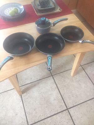 T-Fal non-stick cookware set for Sale in Kalamazoo, MI