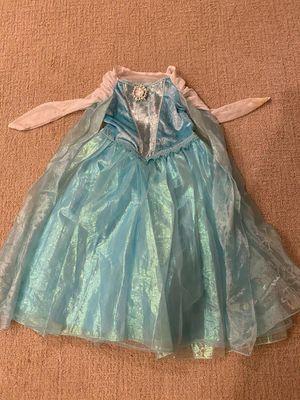 Kids 5-6Y Disney Frozen Elsa Halloween Costume for Sale in Irvine, CA