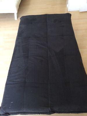 Black cloth futon for Sale in Las Vegas, NV
