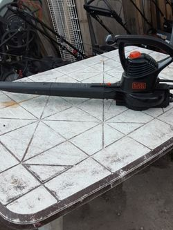 🙂 BLACK & DECKER ELECTRIC BLOWER for Sale in Portsmouth,  VA