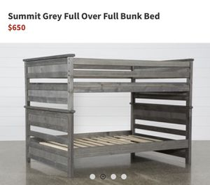 Summit full over full bunk bed -living spaces for Sale in Fremont, CA