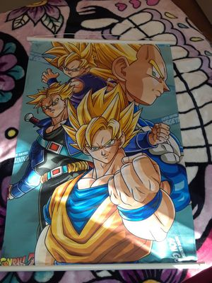 Dragon Ball Z cloth poster for Sale in Fresno, CA