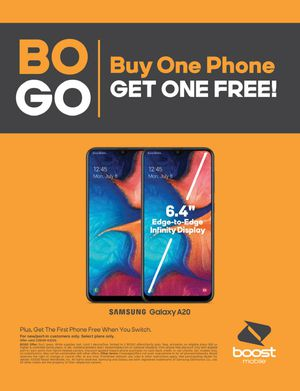 4 FREE Samsung A20's with NEW/PORT Service for Sale in Spokane, WA
