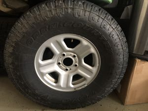 Jeep tires and wheels for Sale in Rancho Cordova, CA