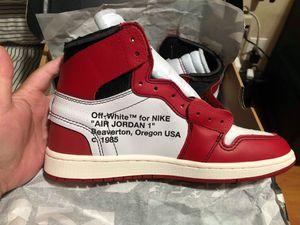 Jordan 1 off-white Chicago size 8 for Sale in Glendale, CA