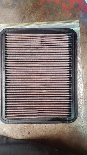 K&N reusable air filter for Sale in Abilene, TX