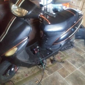 80cc Moped Black Orange{contact info removed} Call Me for Sale in Swansea, SC