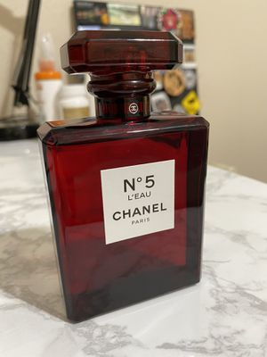 RARE Chanel No. 5 Perfume Red Edition for Sale in Pasadena, CA