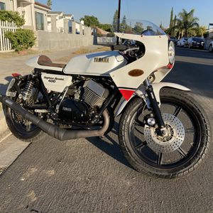 1977 YAMAHA RD400 LOOKS LIKE DAYTONA SPECIAL. CLEAN TITLE IN HAND. REGISTRATION IS ON NON OPERATIONAL. LOW MILES ONLY 17K. STARTS RIGHT UP EVERY for Sale in Los Angeles, CA