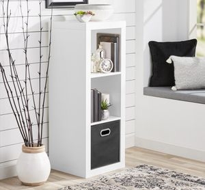 Better Homes & Gardens 3-Cube Storage Organizer, White for Sale in Houston, TX