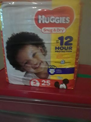 Huggies size 5 for Sale in NEW PRT RCHY, FL