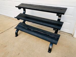 Dumbbell Rack - VTX - 3 Tier Dumbbell Rack - Weights - Exercise - Gym Equipment for Sale in Downers Grove, IL