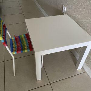 Children table plus chair for Sale in Miami, FL