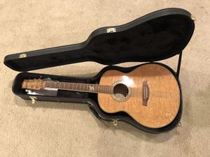 Quilted Maple Ibanez Acoustic Guitar with Case for Sale in Costa Mesa, CA