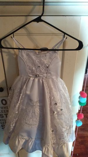 Beautiful Baptism Dress and Tiara for Sale in Bakersfield, CA
