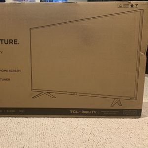 "43"" TCL Roku TV-4k UHD-Brand New for Sale in Denver, CO"