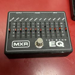 MXR 10 Band Equalizer Pedal for Sale in Mather,  CA