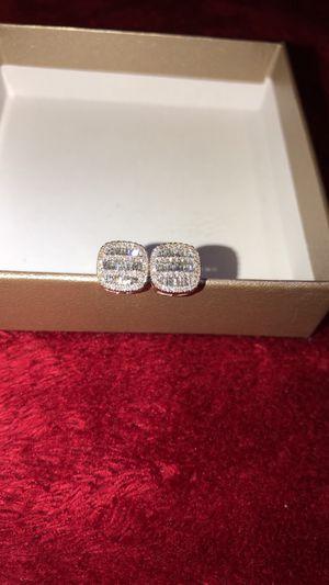 Baguettes Diamond earring for Sale in San Antonio, TX