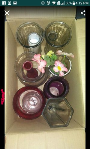 10 flower vases DIFFERENT SIZES for Sale in Oakland Park, FL