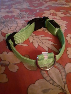 LED glow in the dark dog collar for Sale in West Covina, CA