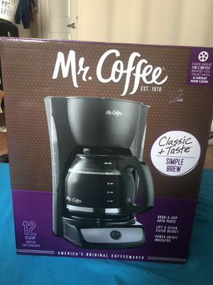 Coffee maker (unopened box) for Sale in Houston, TX