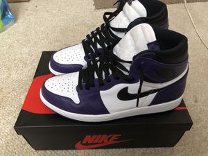 Jordan 1 Court Purple for Sale in Cleveland, OH