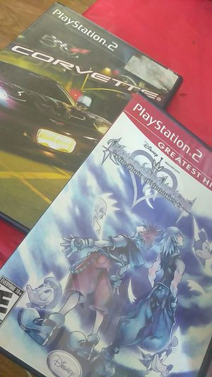 2 PS two games for Sale in Philadelphia, PA
