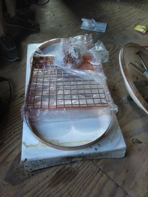 All Copper overhead pot hanger for Sale in Clearwater, FL