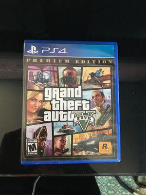 GTA 5 premium edition (PS4) new condition for Sale in Arlington, VA