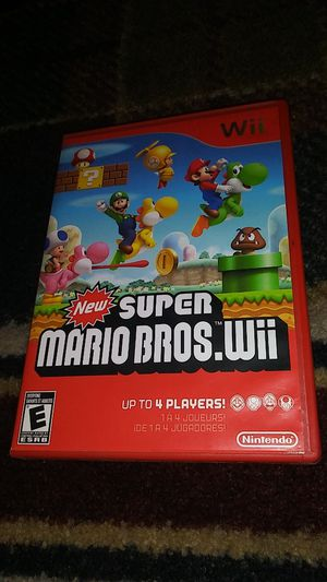 new SUPER MARIO BROS. Wii - (USED) Nintendo Wii & Wii U video game for Sale in Stockton, CA
