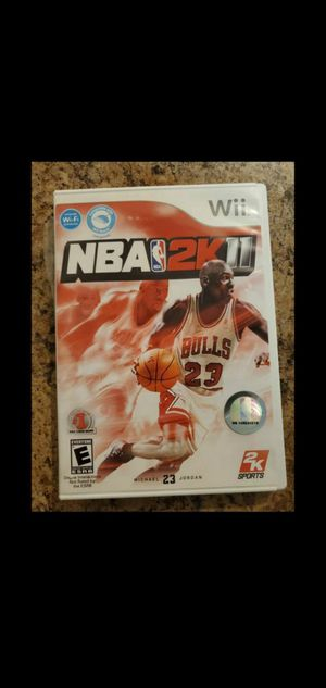 Like new Wii NBA 2KII Michael 23 Jordan for Sale in Phoenix, AZ